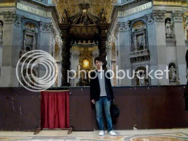 Jeremy C.K. Shih at St. Peter's Basilica