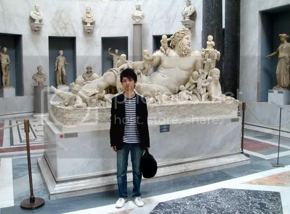 Jeremy C.K. Shih at Vatican Museums