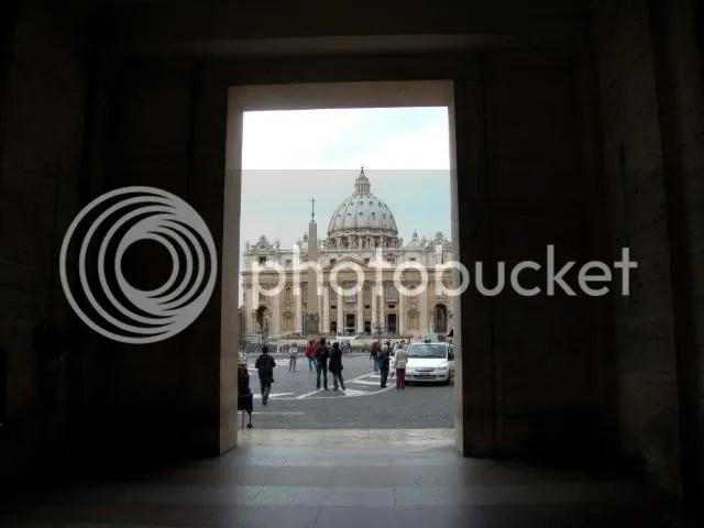 Outside Vatican City