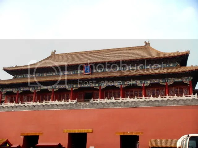 Meridian Gate, the Forbidden City