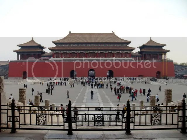 Meridian Gate, the Forbidden City