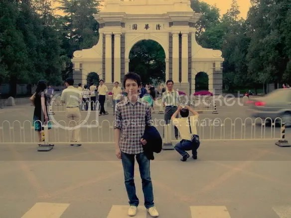 Jeremy Shih in Tsinghua University