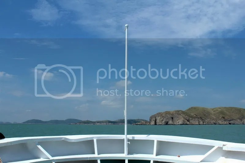 Aboard Cruise Ship East Blessing en Route to Temple Lake Island