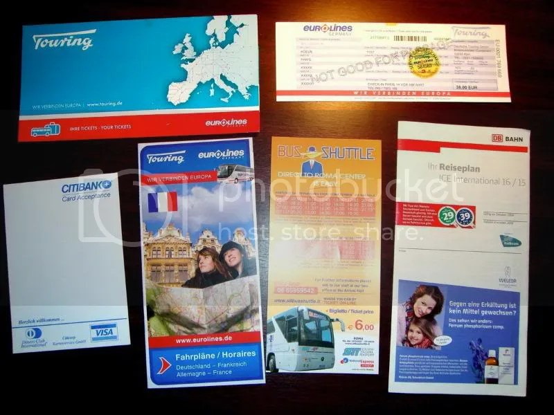 Coach Leaflets in Europe 2008