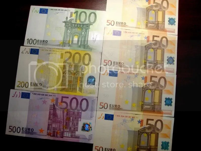 Currency - Euros