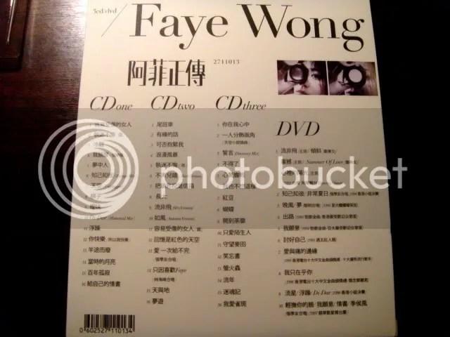 CD Album - Selection of Faye Wong