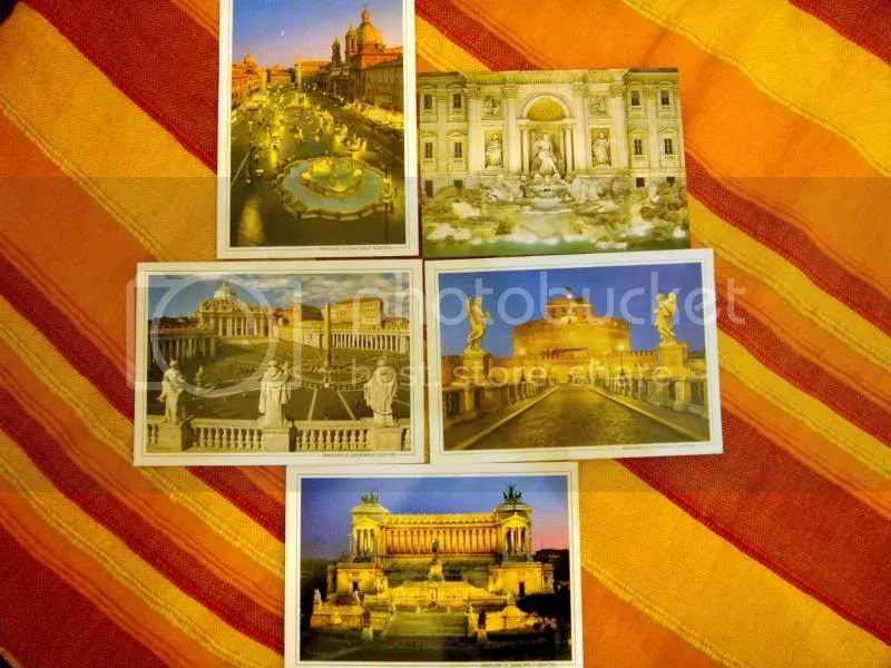 Postcards for Friends 2008, Rome, Italy