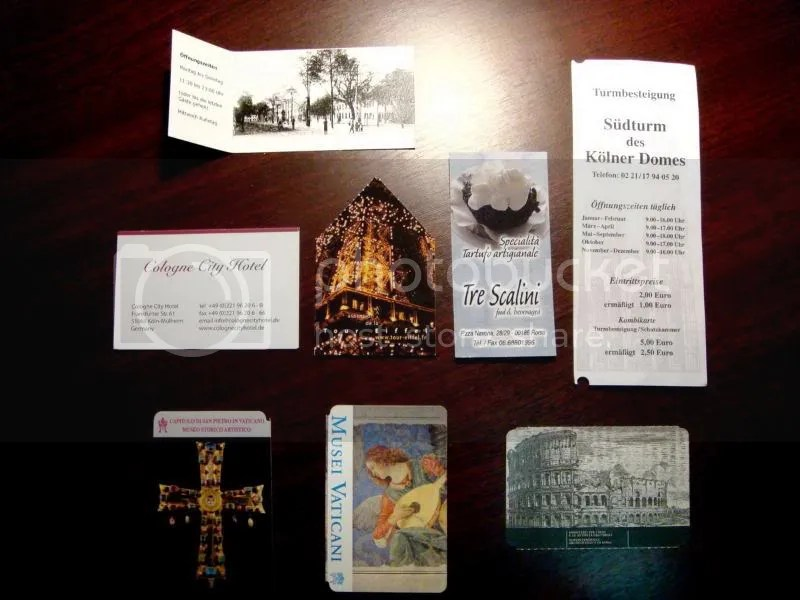 Cards and Tickets