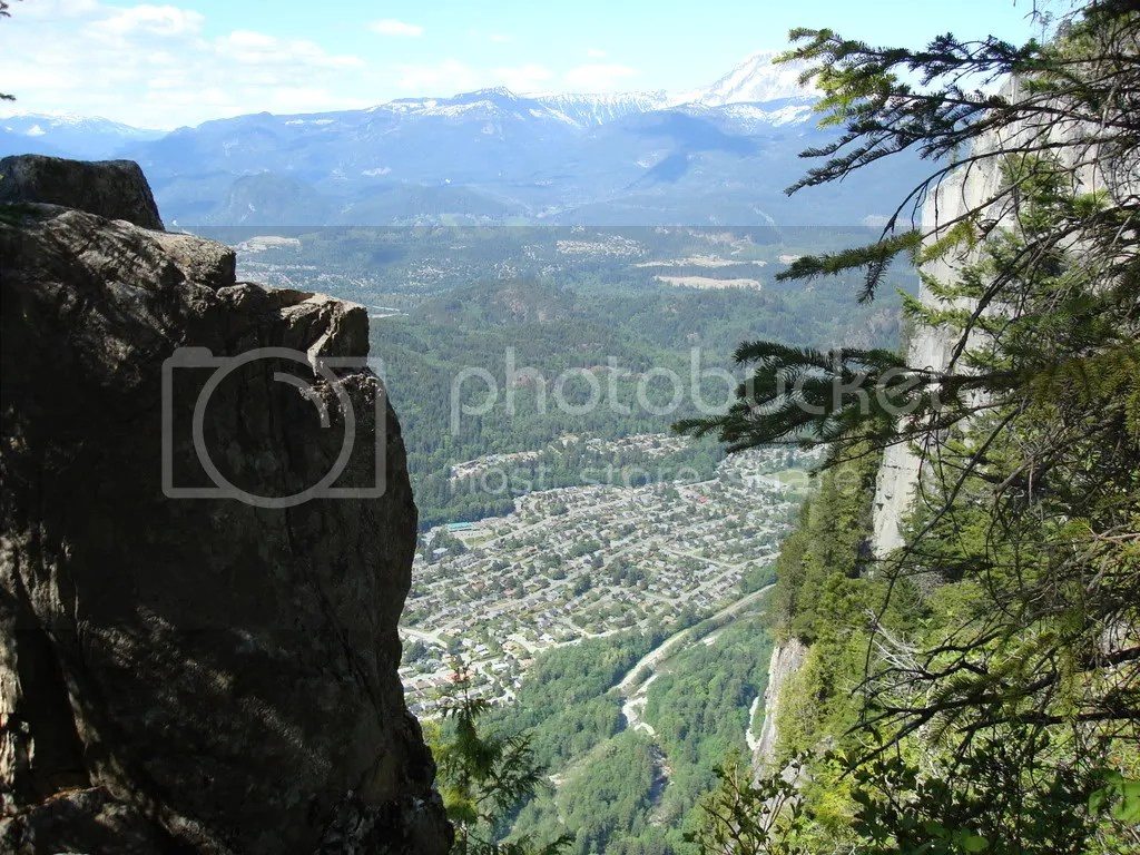 Squamish between the Center and North peaks