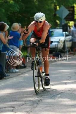 Mooseman '08 Bike Finish