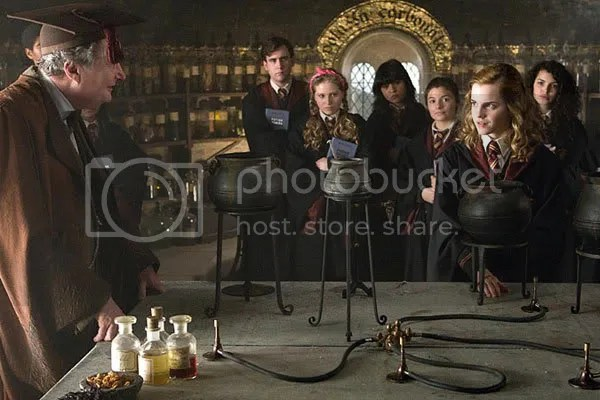 Hermione in Harry Potter 6