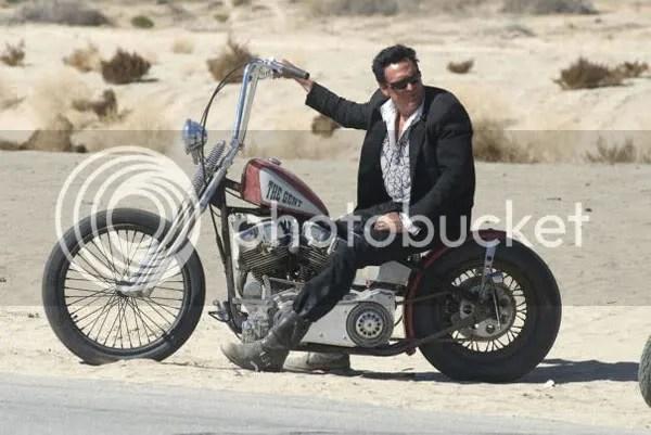 Michael Madsen is a biker in Hell Ride.