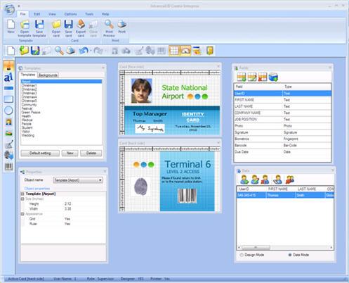 Advanced ID Creator Enterprise 9.5.232