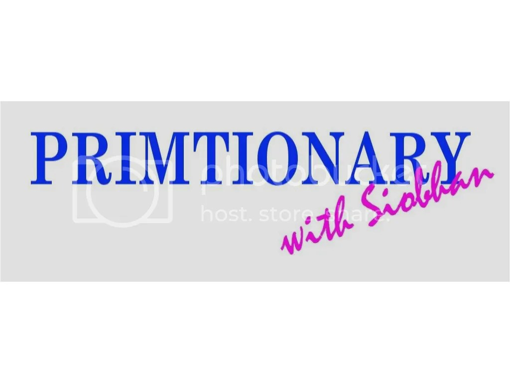 Primtionary with Siobhan