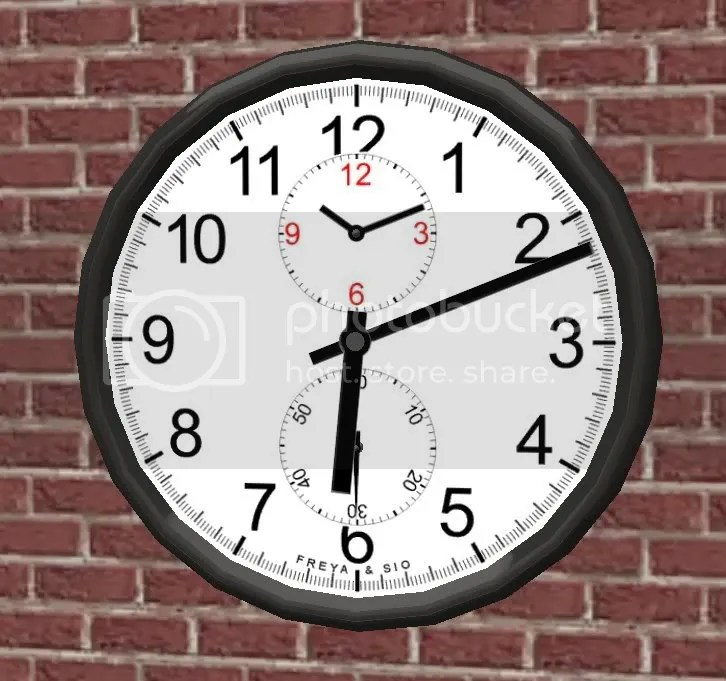 Clock - White Face