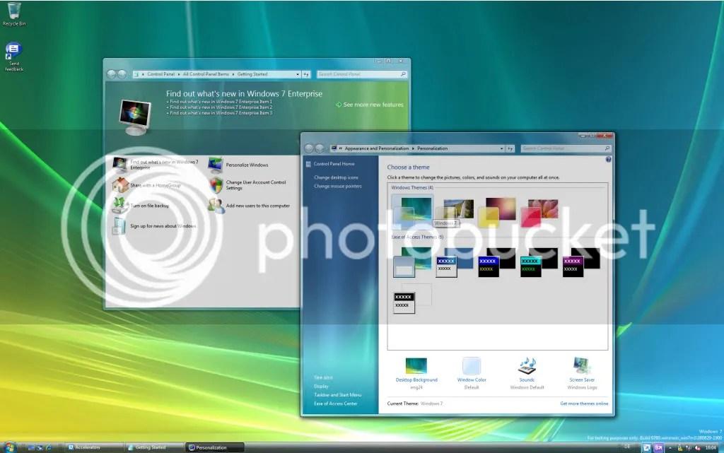 Tema padrão do Windows 7