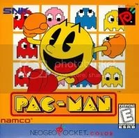 No online leaderboards The Strangest, and Games to Avoid, on NGPC The Strangest, and Games to Avoid, on NGPC pac man box