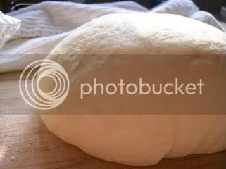 Pizza Dough - Risen