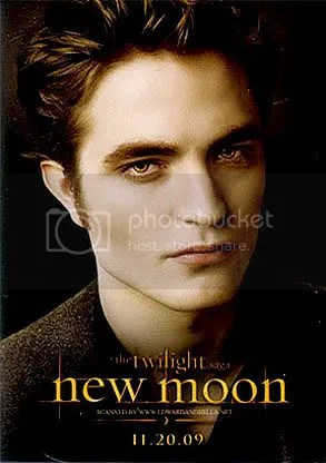 NEW MOON Twilight Edward Cullen