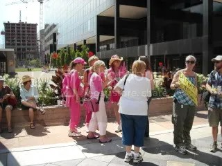 Code Pink? Or merely fashion disasters?
