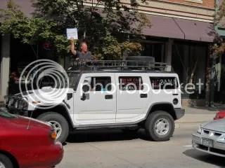 Ass-hats in a Hummer