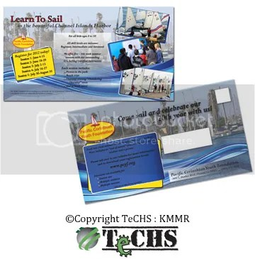 "PCYF-Mailer, 2012 ""Learn to Sail"" mailer"