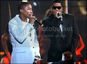 Nelly, Akon, T-Pain and Pharrell