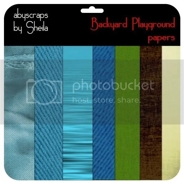 Backyard Playground papers