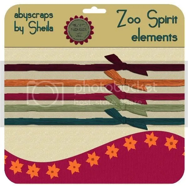 abyscraps Zoo Spirit elements