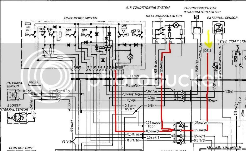 1978 porsche 911 wiring diagram