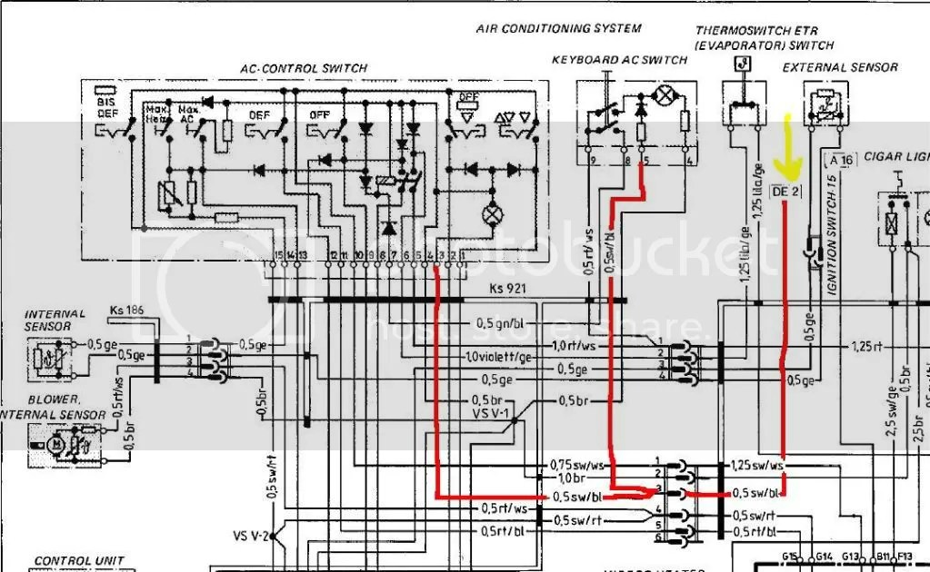 1978 porsche 924 fuse box diagram  porsche  auto wiring
