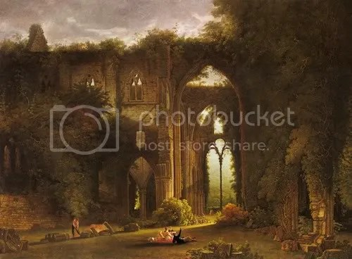 Tintern Abbey, Samuel Colman