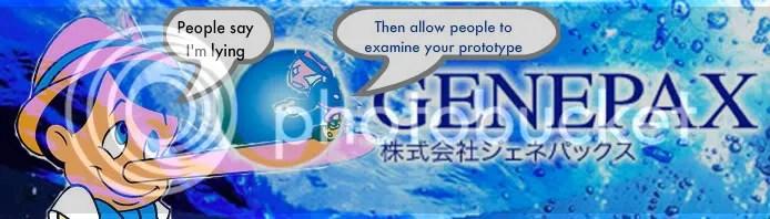 Genepax Doubts?