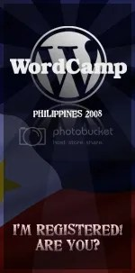 WordCamp Philippines badge