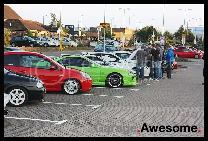 Line Up At Derby Cruise