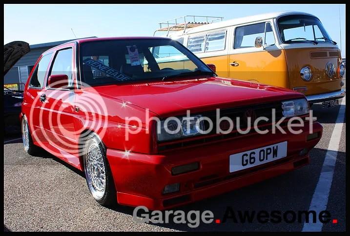 Mk2 VW Golf rallye