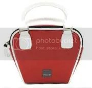 red bowler camera bag