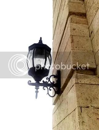 solitary lamp