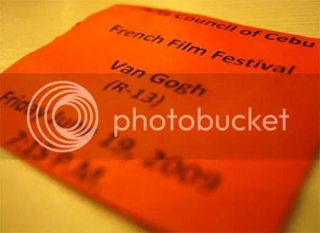 van gogh ticket