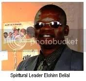 Yakub Muslim cleric Elohim Belial
