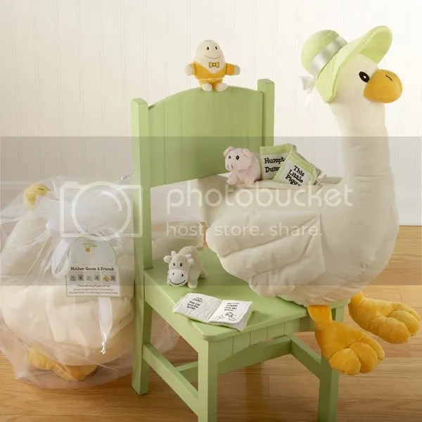 Mother Goose Gift Set w/ Plush Nursery Rhyme Buddies