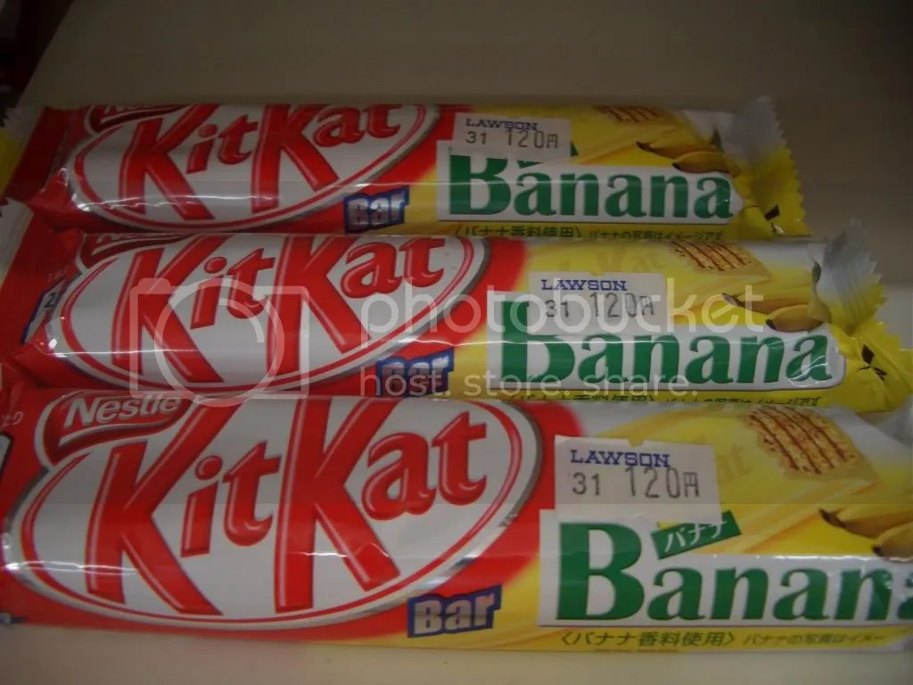 Kit Kat Banana Flavor