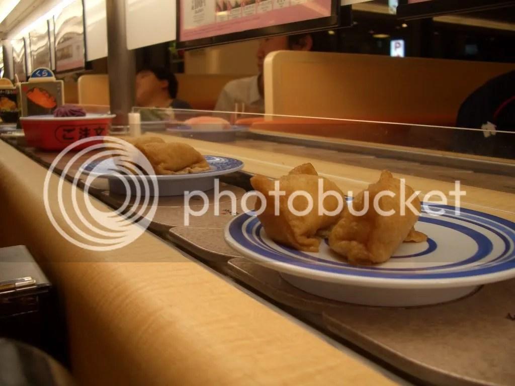 Inari sushi @ kaiten sushi