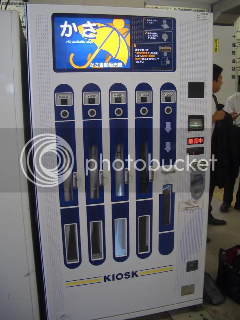 Umbrella vending machine