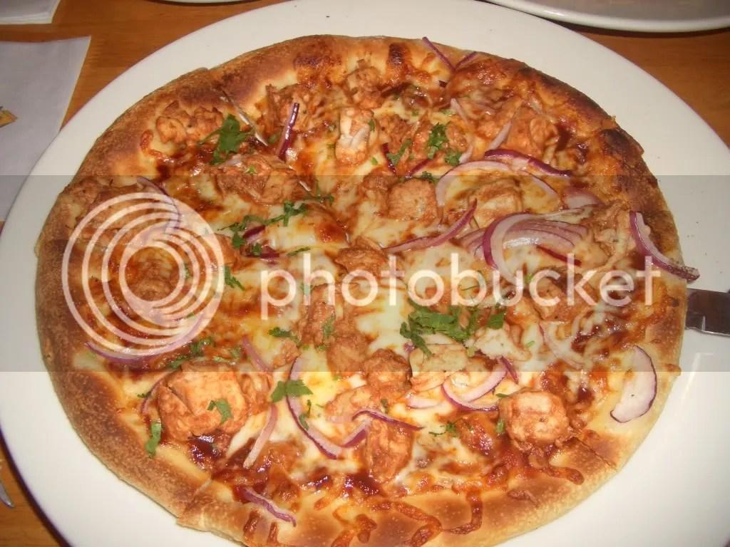 My favorite Pizza! Original BBQ Chicken!