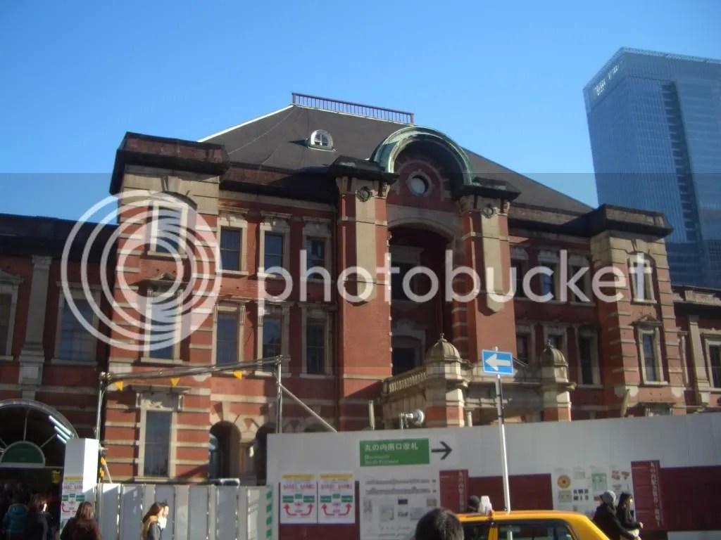Tokyo Station building.