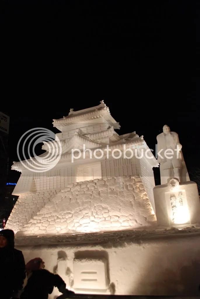 Matsumoto castle sculpture