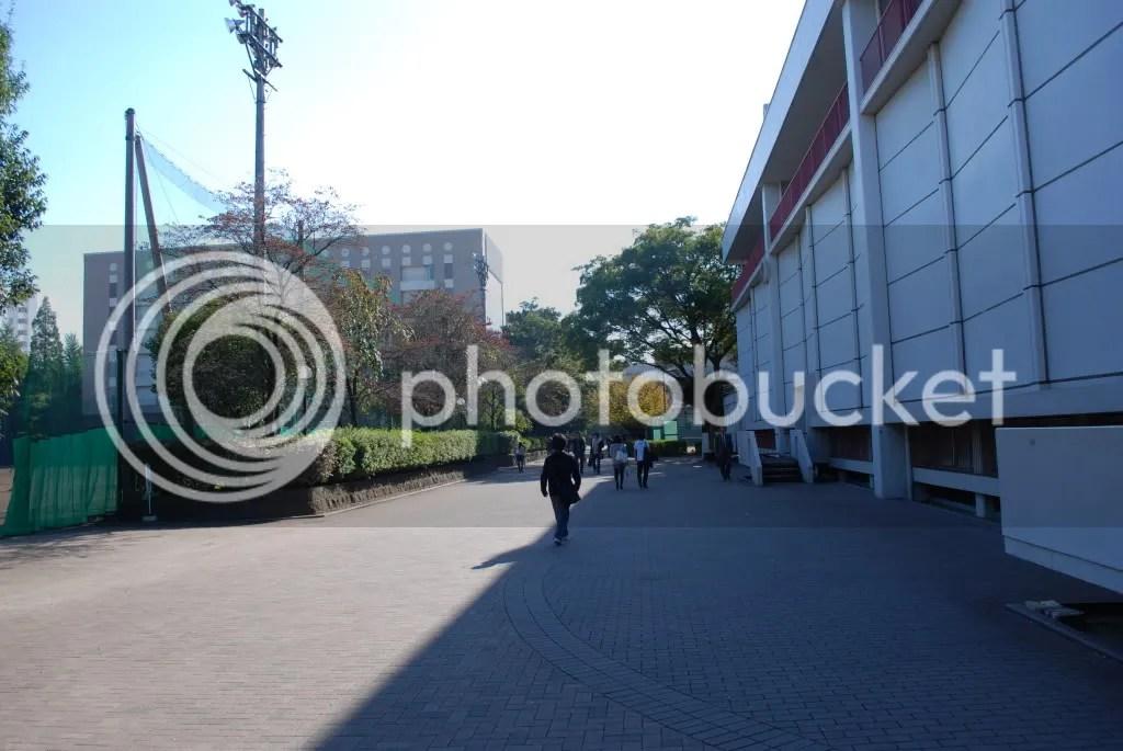 On the campus of Gaku-shuu-in University