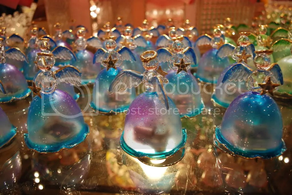 Beautiful angel music boxes