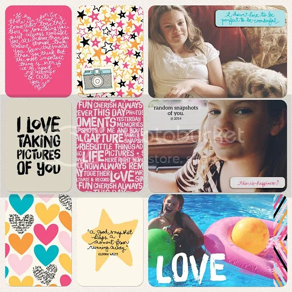 Becky Higgins Digital Project Life Kiwi Value Kit by Jenn McCabe